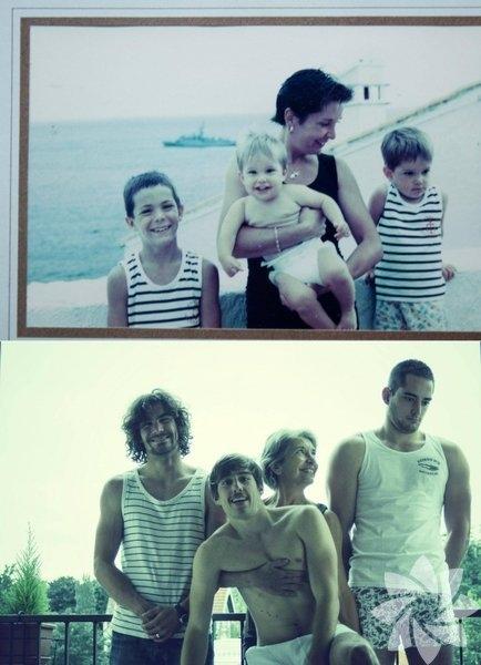 İçinizi ısıtacak anne-oğul fotoğrafları 6