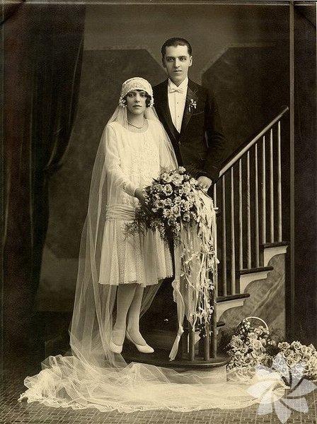 Tarihin tozlu sayfalarından düğün fotoğrafları... 10