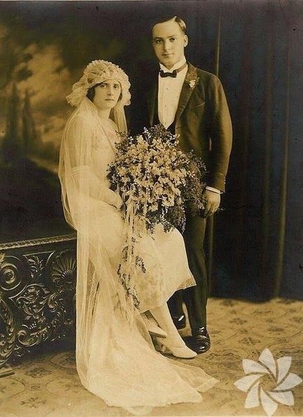Tarihin tozlu sayfalarından düğün fotoğrafları... 13