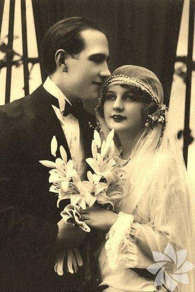 Tarihin tozlu sayfalarından düğün fotoğrafları... 14