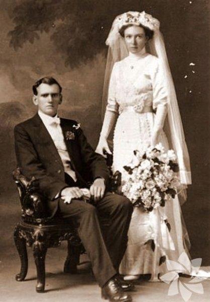 Tarihin tozlu sayfalarından düğün fotoğrafları... 27