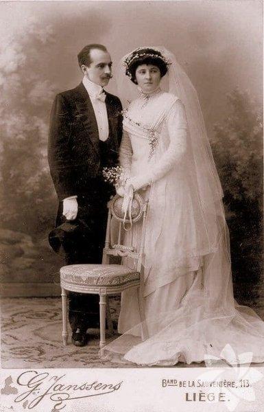 Tarihin tozlu sayfalarından düğün fotoğrafları... 8