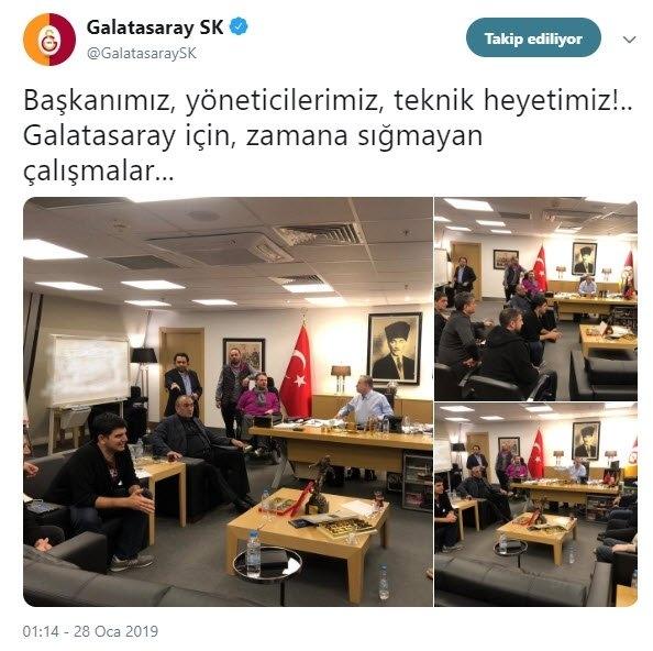 Sosyal medyayı sallayan Galatasaray paylaşımı 2