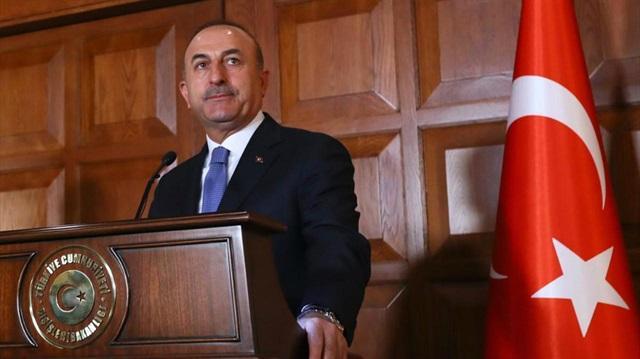 """Çavuşoğlu: """"Amacımız, çatışmaları tamamen önlemek ve siyasi süreci kolaylaştırmak"""""""