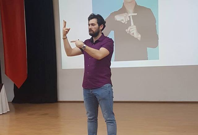 """Öğretmen Adaylarına """"İşaret Dili"""" semineri düzenlendi."""
