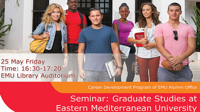 DAÜ'de lisansüstü eğitim semineri yapılacak
