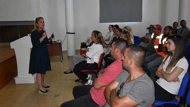 Dr. Suat Günsel Girne Üniversitesi Hastanesi ve Lapta Belediyesi işbirliği ile Sigara Bırakma Semineri düzenlendi