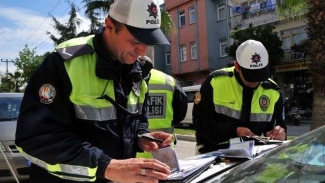 Trafikte son bir haftada 847 sürücüye ceza yazıldı