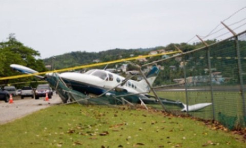 Danimarka'da uçak düştü: 2 ölü