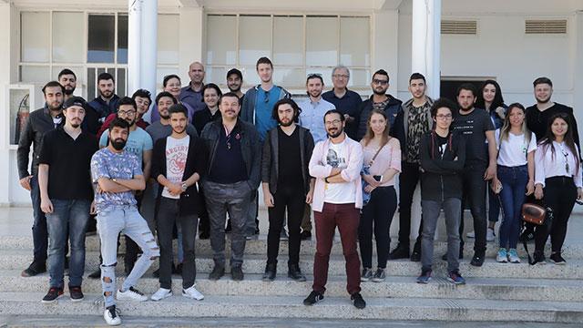Murat Şeker DAÜ'lü öğrencilerle buluştu