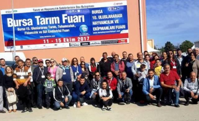 KTÇB, 15. Bursa Uluslararası Tarım, Tohumculuk, Fidancılık ve Süt Endüstrisi Fuarı'na katıldı