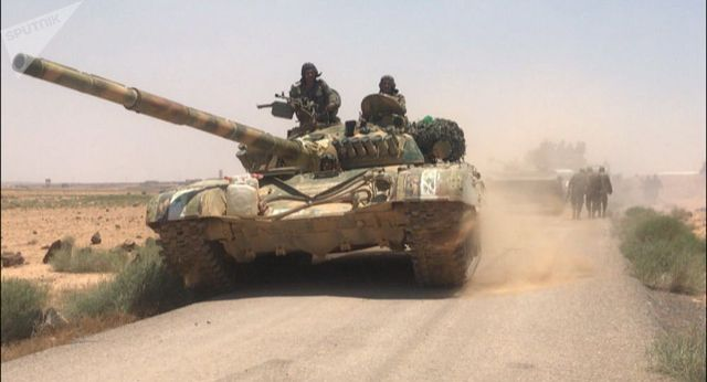 Rusya: Suriyeli militanlar, Derada son 2 haftada 26 tank bıraktı