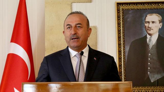 """Çavuşoğlu: """"Kıbrıs'ta sıfır asker sıfır garanti rüyasındakiler uyanın, vazgeçin…"""""""