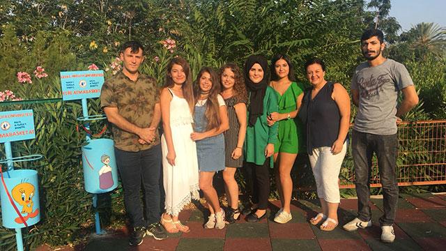 LAÜ'lü öğrencilerin anlamlı projeleri devam ediyor
