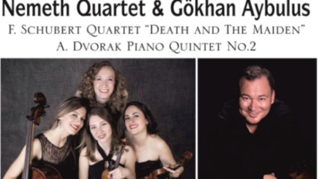 kuzey kıbrıs müzik festivali'nde cuma akşamı nemeth quartet & gökhan aybulus konseri var…