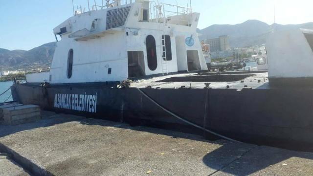 Alsancak Belediyesi dalış turizmi için gemi batıracak