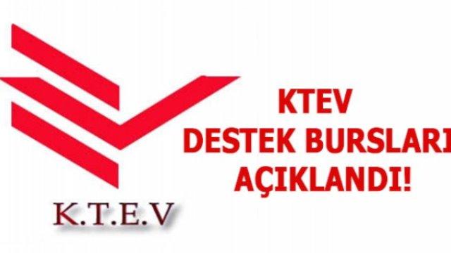 KTEV'den Eğitim bursu almaya hak kazanan öğrenciler açıklandı