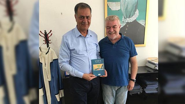 Yazar Canpolat, Daü'yü ziyaret etti