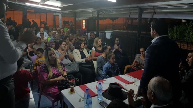 YDP, Girne'de ilk kitle toplantısını yaptı