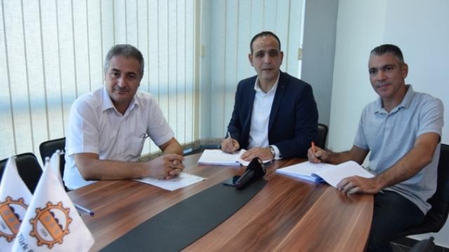 Haspolat Köyü İçme Suyu şebekesi yenileme projesi ihalesi tamamlandı, imzalar atıldı