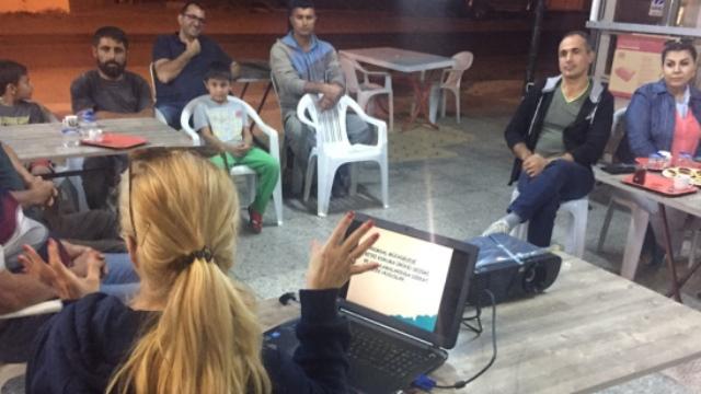 Tarım Dairesi Eğitim Çalışmalarına bu hafta Geçitköy ile devam etti