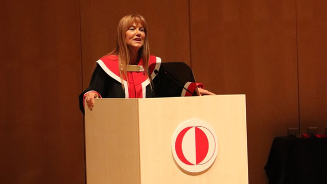 ODTÜ Kıbrıs'ta yeni Akademik Yıl törenle başladı