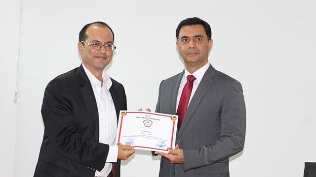 Soruşturma Memurluğu eğitimi alanlara sertifikaları verildi