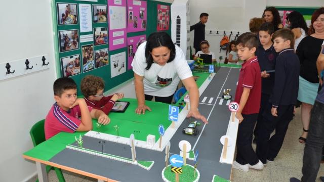 Yakın Doğu İlkokulu Kodlama Eğitimini Uluslararası Platforma Taşıyor…