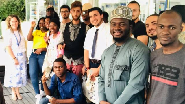 YDÜ Siyaset Bilimi ve Uluslararası İlişkiler Bölümü Öğrencileri İlk Alan Araştırmasını AB Bilgi Merkezinde Gerçekleştirildi