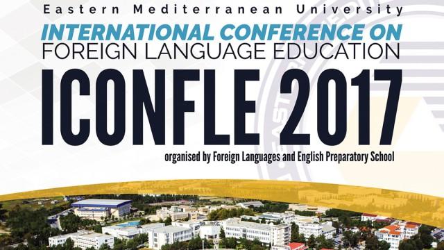 2017 Uluslararası Yabancı Dil Öğretimi Konferansı başlıyor