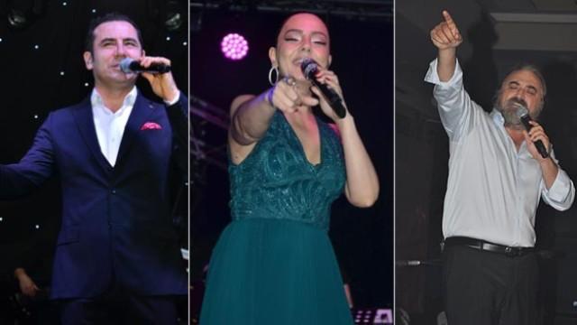 Ünlülerden 'Cumhuriyet Bayramı' konserleri
