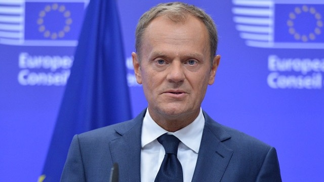 """AB Konseyi Başkanı Tusk: """"İspanya'daki durumun endişe verici olduğunu saklamaya gerek yok"""""""