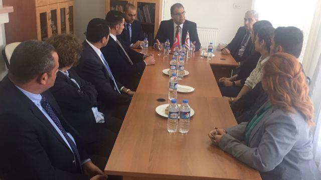 Sucuoğlu'nun Ankara'daki temasları sürüyor