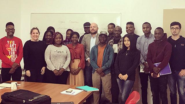 YDÜ öğrencileri Kıbrıs Uyuşmazlığını ve Müzakere Süreçlerini yuvarlak masa toplantısı ile düzenleyerek değerlendirdi…