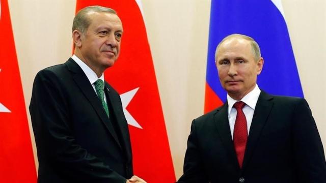 TC Cumhurbaşkanı Erdoğan, Rusya Devlet Başkanı Putin'le telefonda görüştü