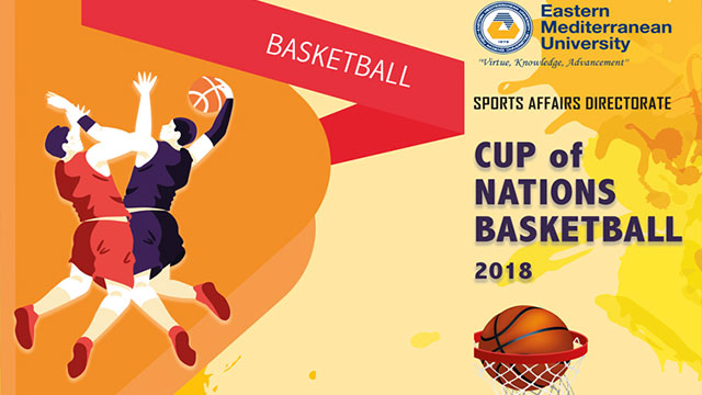 "DAÜ ""Cup Of Nation Basketball"" turnuvası başlıyor"