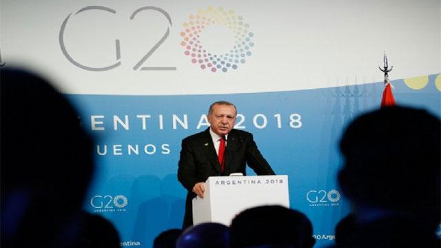 """Erdoğan: """"KKTC'nin haklarının gasp edilmesine asla izin vermeyeceğiz"""""""