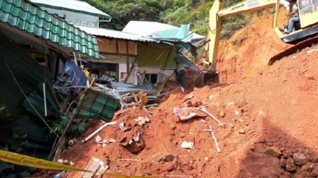 Malezya'daki toprak kayması…Ölü sayısı 11'e çıktı