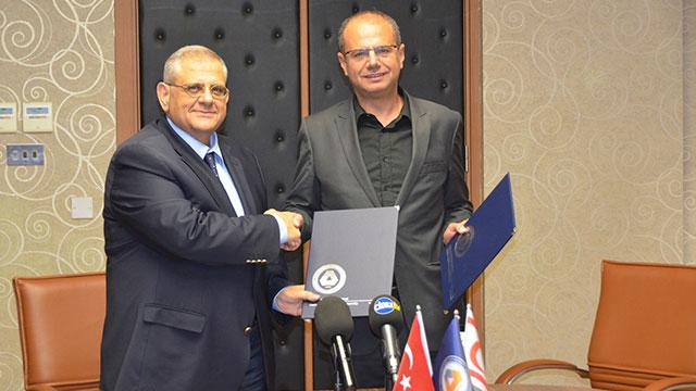 DAÜ ile Kıbrıs Türk Gazeteciler Birliği arasında iş birliği protokolü imzalandı