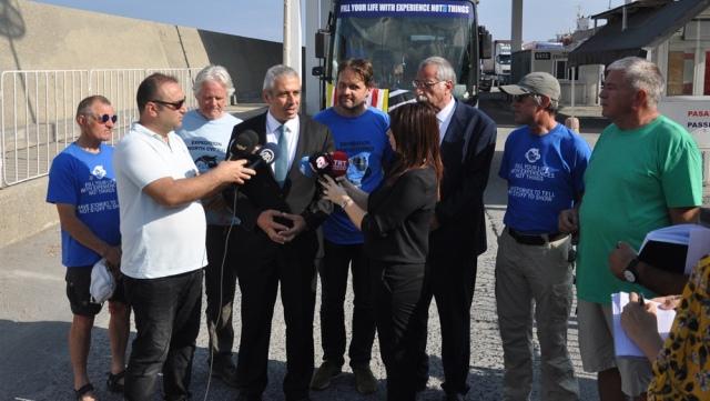 """""""Kuzey Kıbrıs'ı Keşfet"""" Otobüsü KKTC'de…"""
