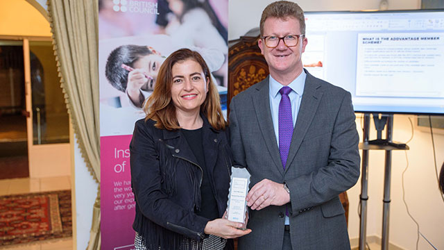 British Council'dan Yakın Doğu İlkokuluna Altın Üye Ödülü…