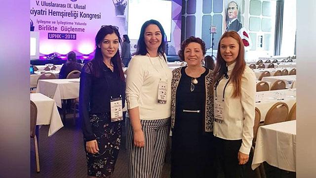 YDÜ Hemşirelik Fakültesi'nden Ulusal ve Uluslararası Psikiyatri Hemşireliği Kongresi'nde temsiliyet…