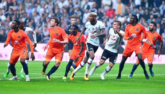Süper Ligde Beşiktaş ile Başakşehir Vodafone Park'ta 1-1 Berabere Kaldı