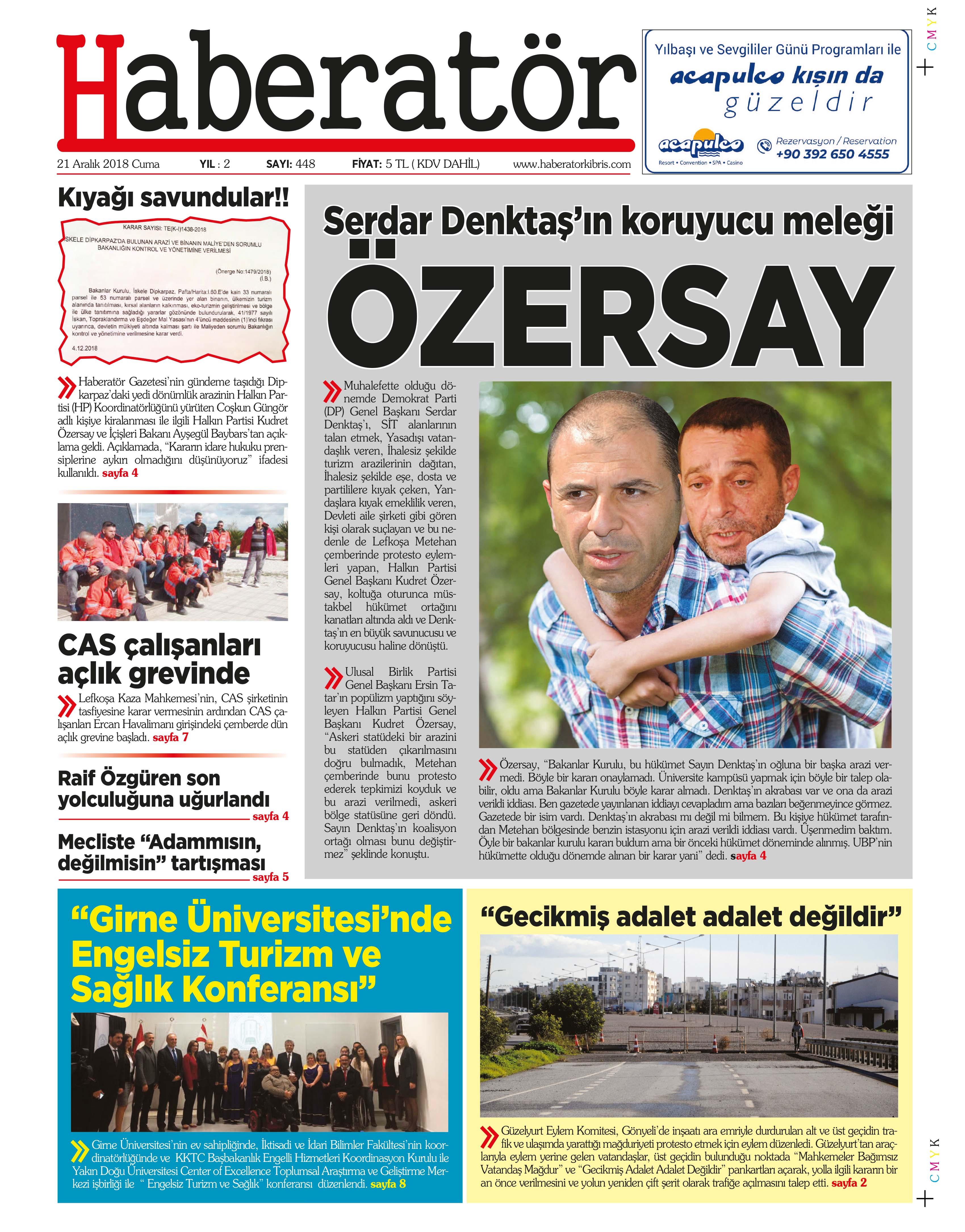 Haberatör Gazetesi Gazetesi