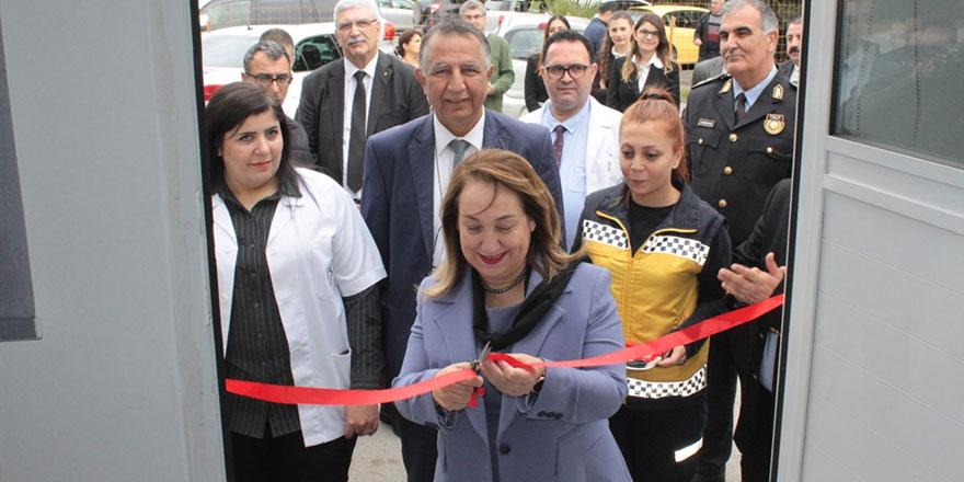 Sağlık Bakanı Besim, 112 komuta merkezi ve Adli Tıp Birimi'nin açılışını yaptı