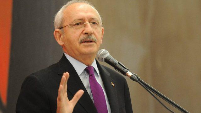 Kılıçdaroğlu: ''Kendini hain ilan ettiysen o koltuktan kalkacaksın''