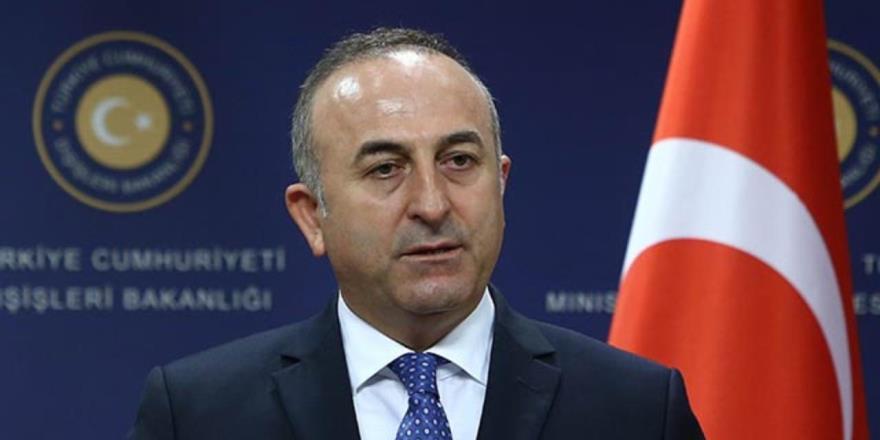"""Çavuşoğlu: """"Bu kaynakların, hem Kıbrıs Türk halkının hem de Rum halkının hakkı"""""""