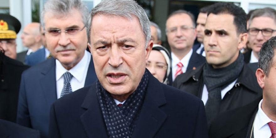 """Akar: """"Ege, Doğu Akdeniz ve Kıbrıs'ta ülkemizin hak ve hukukunu korumak için her türlü tedbiri alıyoruz"""""""