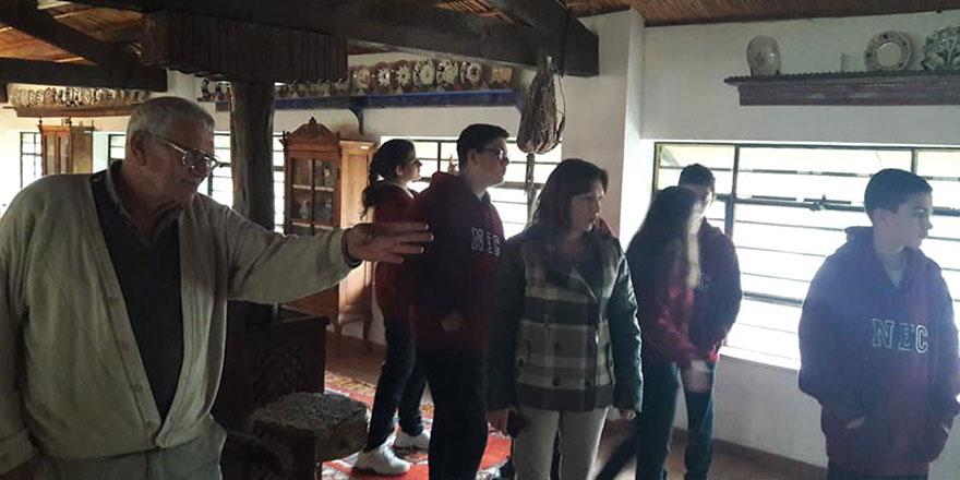 YDK öğrencileri Kıbrıs Özel Etnoğrafya Müzesini ziyaret etti