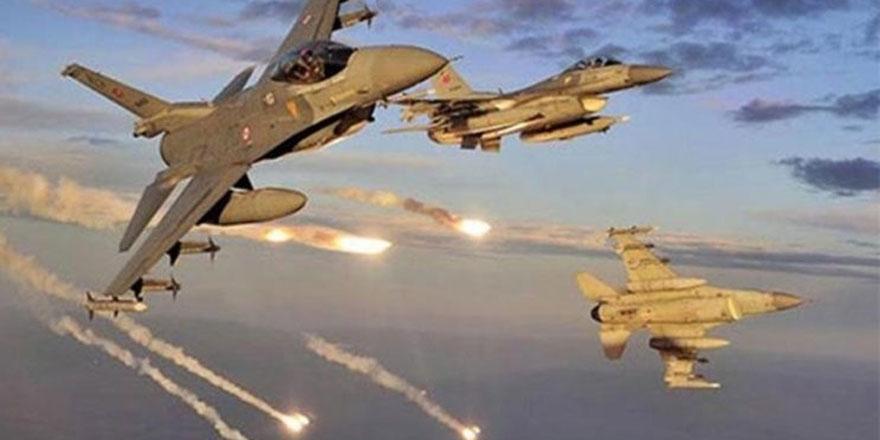 Irak'ın kuzeyinde hava harekatı!